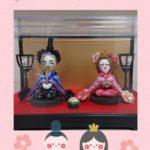 ルルベちゃんの雛人形お披露目🎊